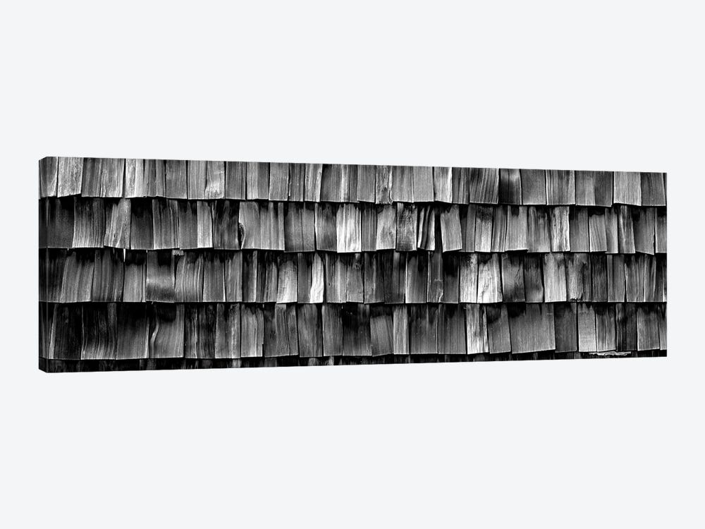 Close-Up Of Wooden Shingle, La Conner, Washington State, USA by Panoramic Images 1-piece Canvas Wall Art