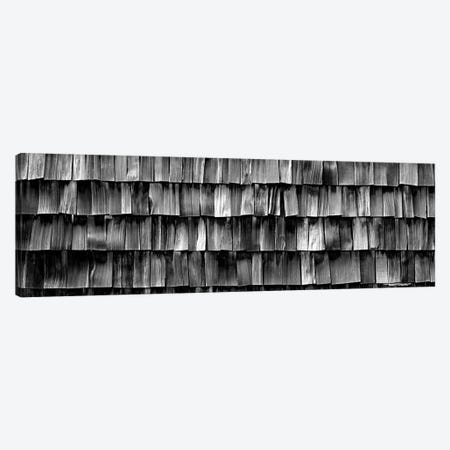 Close-Up Of Wooden Shingle, La Conner, Washington State, USA 3-Piece Canvas #PIM15118} by Panoramic Images Canvas Artwork