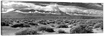 Death Valley Landscape, Panamint Range, Death Valley National Park, Inyo County, California, USA Canvas Art Print