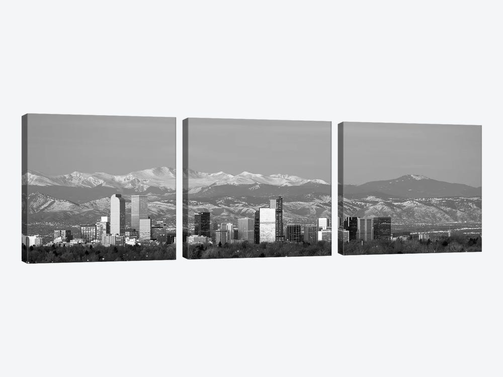 Denver, Colorado, USA by Panoramic Images 3-piece Canvas Wall Art