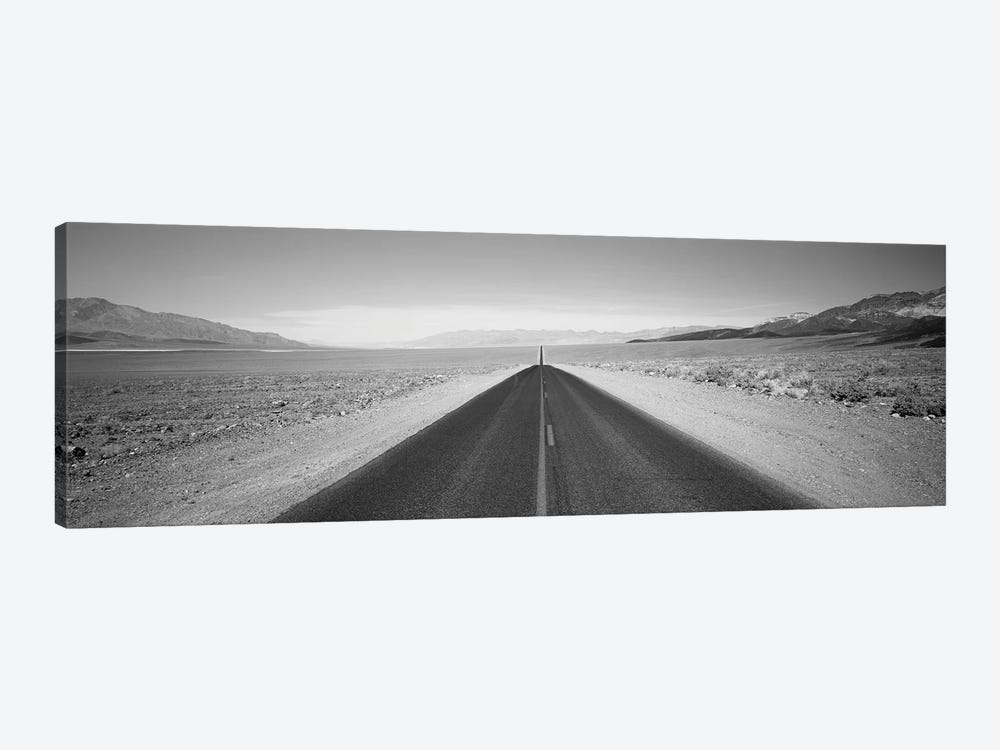 Empty Highway In Death Valley, California, USA by Panoramic Images 1-piece Canvas Artwork