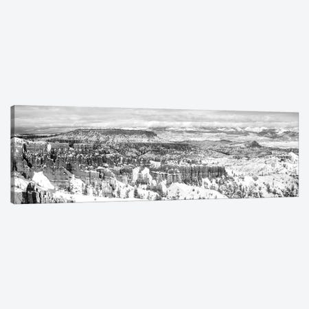 Eroded Rocks In A Canyon, Bryce Canyon, Bryce Canyon National Park, Utah, USA Canvas Print #PIM15128} by Panoramic Images Art Print