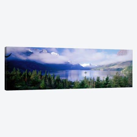 Saint Mary Lake, Glacier National Park, Montana, USA Canvas Print #PIM1512} by Panoramic Images Canvas Art Print