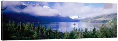 Saint Mary Lake, Glacier National Park, Montana, USA Canvas Print #PIM1512