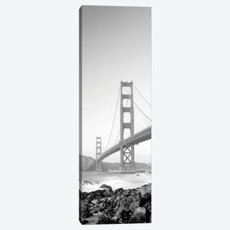 Golden Gate Bridge, San Francisco, California, USA 3-Piece Canvas #PIM15136} by Panoramic Images Canvas Print