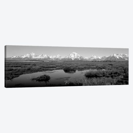 Grand Teton Park, Wyoming, USA I Canvas Print #PIM15137} by Panoramic Images Canvas Art Print