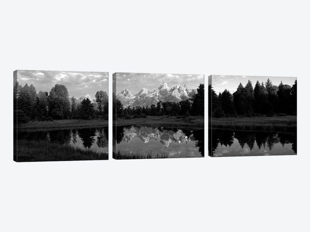 Grand Teton Park, Wyoming, USA II by Panoramic Images 3-piece Canvas Wall Art