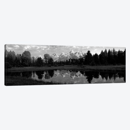 Grand Teton Park, Wyoming, USA II 3-Piece Canvas #PIM15138} by Panoramic Images Canvas Wall Art