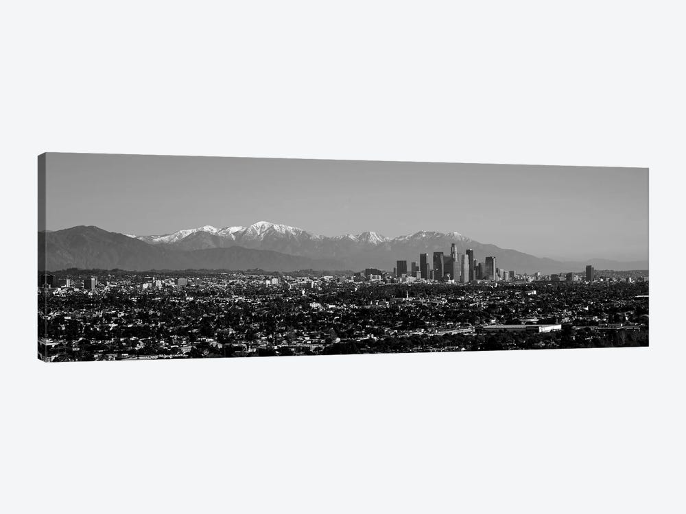 High-Angle View Of A City, Los Angeles, California, USA by Panoramic Images 1-piece Art Print