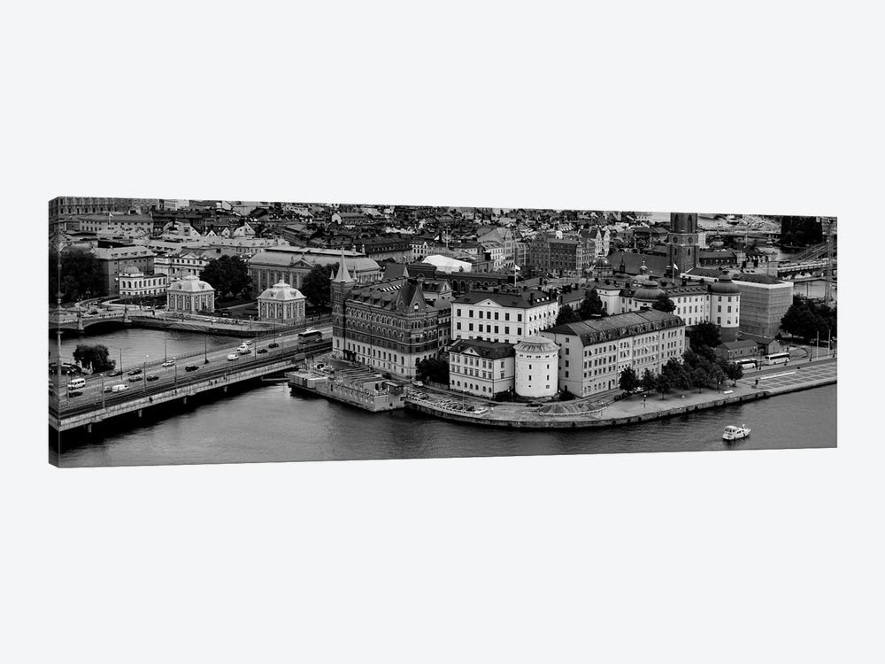 High-Angle View Of A City, Stockholm, Sweden by Panoramic Images 1-piece Canvas Artwork
