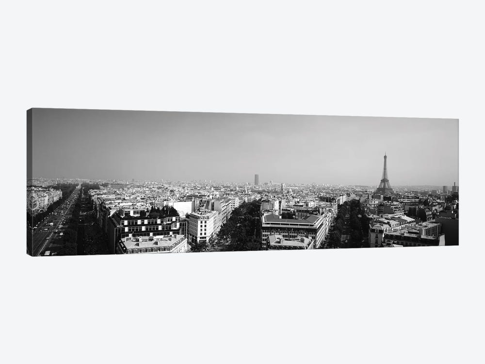 High-Angle View Of A Cityscape, Paris, France by Panoramic Images 1-piece Canvas Artwork