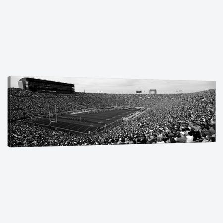 High-Angle View Of A Football Stadium Full Of Spectators, Notre Dame Stadium, South Bend, Indiana, USA Canvas Print #PIM15146} by Panoramic Images Canvas Art