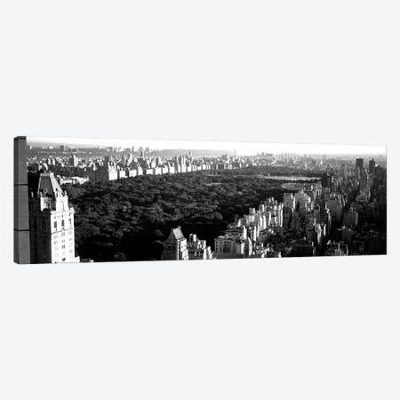 High-Angle View Of Buildings In A City, Central Park, Manhattan, New York City, New York State, USA Canvas Print #PIM15148} by Panoramic Images Canvas Art Print