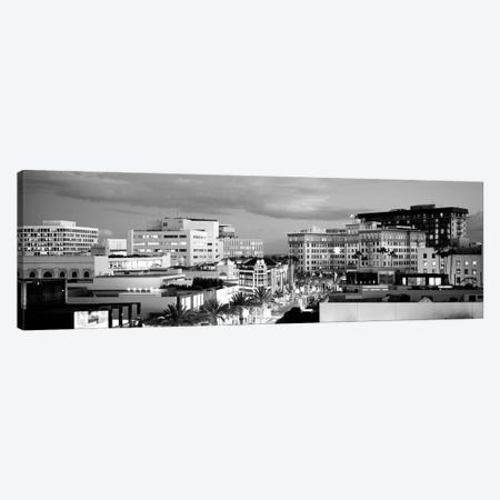 High-Angle View Of Buildings In A City, Rodeo Drive, Beverly Hills, California, USA Canvas Print #PIM15149} by Panoramic Images Canvas Print