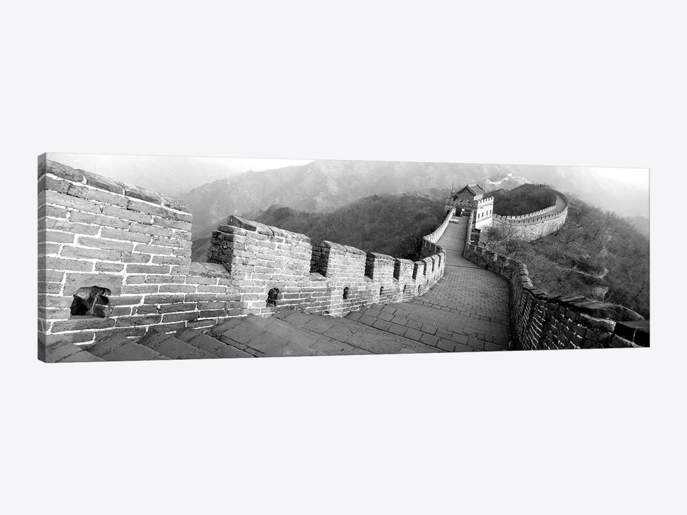 High-Angle View Of The Great Wall Of China, Mutianyu, China I by Panoramic Images 1-piece Canvas Art