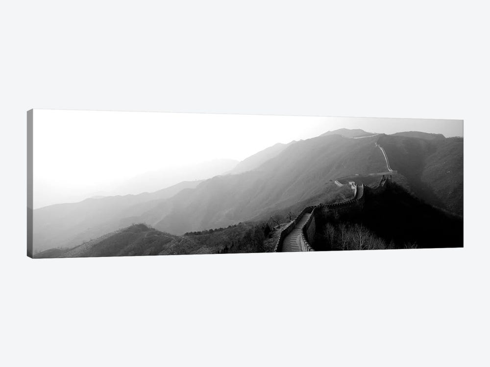 High-Angle View Of The Great Wall Of China, Mutianyu, China II by Panoramic Images 1-piece Art Print