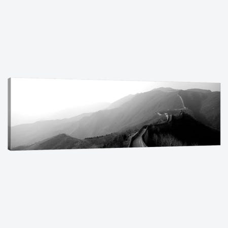 High-Angle View Of The Great Wall Of China, Mutianyu, China II 3-Piece Canvas #PIM15153} by Panoramic Images Canvas Art