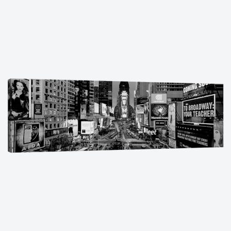 High-Angle View Of Traffic On A Road, Times Square, Manhattan, New York City, New York State, USA Canvas Print #PIM15154} by Panoramic Images Art Print