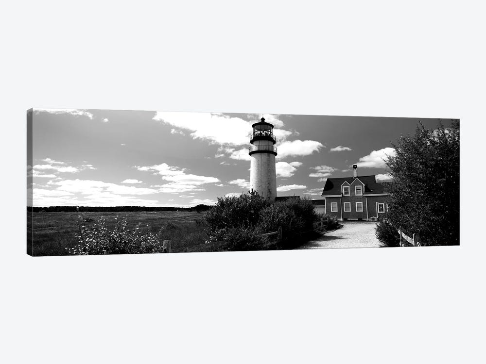 Highland Light Lighthouse, Cape Cod National Seashore, North Truro, Barnstable County, Massachusetts, USA by Panoramic Images 1-piece Art Print