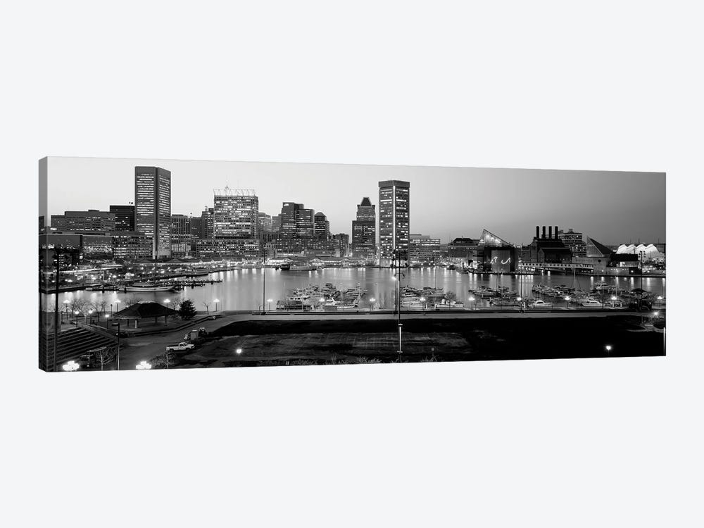 Inner Harbor, Baltimore, Maryland, USA by Panoramic Images 1-piece Canvas Print