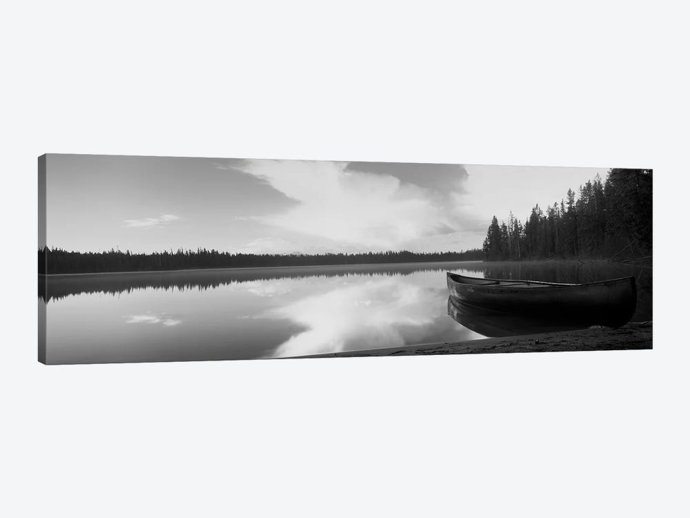 Leigh Lake, Grand Teton Park, Wyoming, USA by Panoramic Images 1-piece Canvas Artwork
