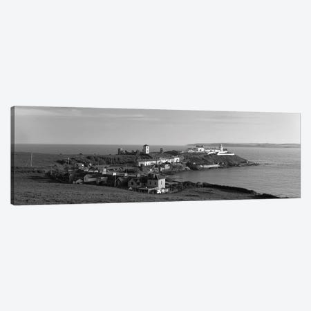 Lighthouse On The Coast, Roche's Point Lighthouse, County Cork, Republic Of Ireland Canvas Print #PIM15168} by Panoramic Images Canvas Print