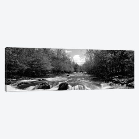 Little Pigeon River, Great Smoky Mountains National Park, Sevier County, Tennessee, USA Canvas Print #PIM15169} by Panoramic Images Canvas Art Print