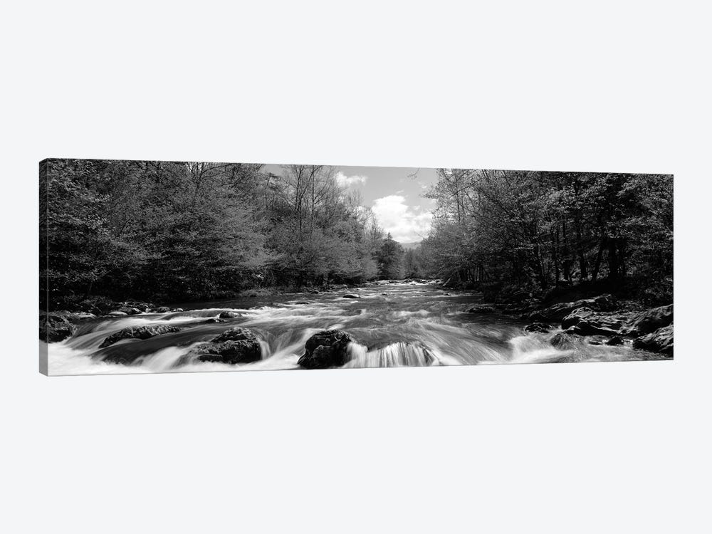 Little Pigeon River, Great Smoky Mountains National Park, Sevier County, Tennessee, USA by Panoramic Images 1-piece Canvas Artwork