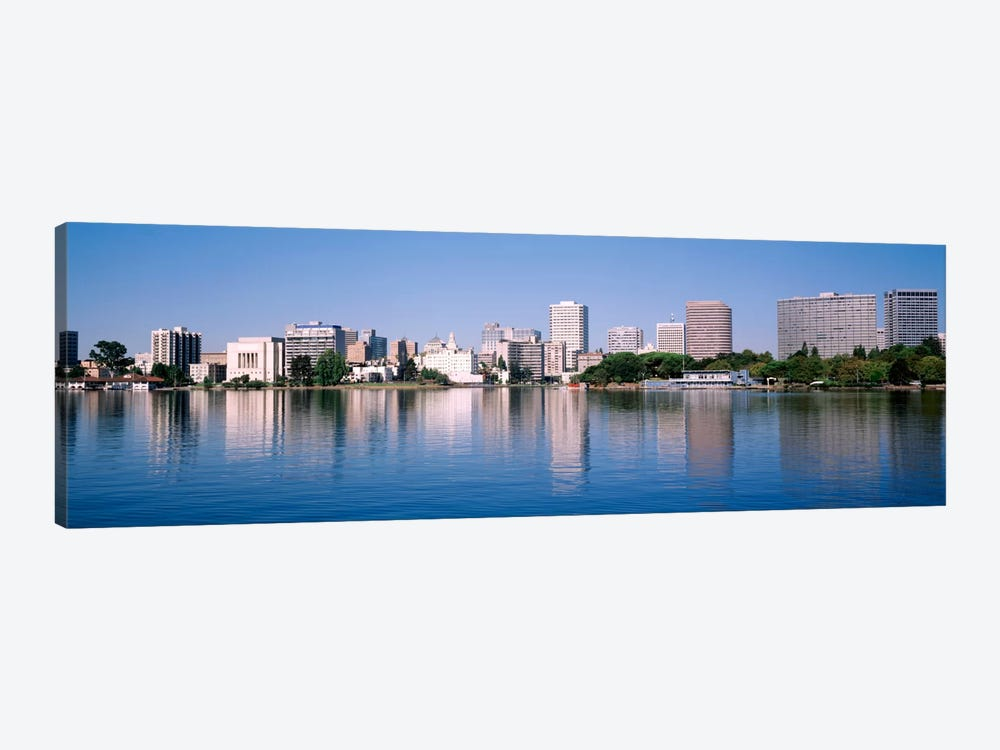 Panoramic View Of The Waterfront And Skyline, Oakland, California, USA by Panoramic Images 1-piece Art Print