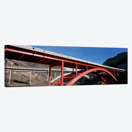 Two bridges San Carlos Indian Reservation AZ USA Canvas Print #PIM1517} by Panoramic Images Canvas Wall Art