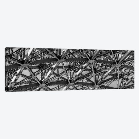 Low-Angle View Of Detail Of Structure Of Golden Gate Bridge, San Francisco Bay, San Francisco, California, USA Canvas Print #PIM15181} by Panoramic Images Canvas Art Print