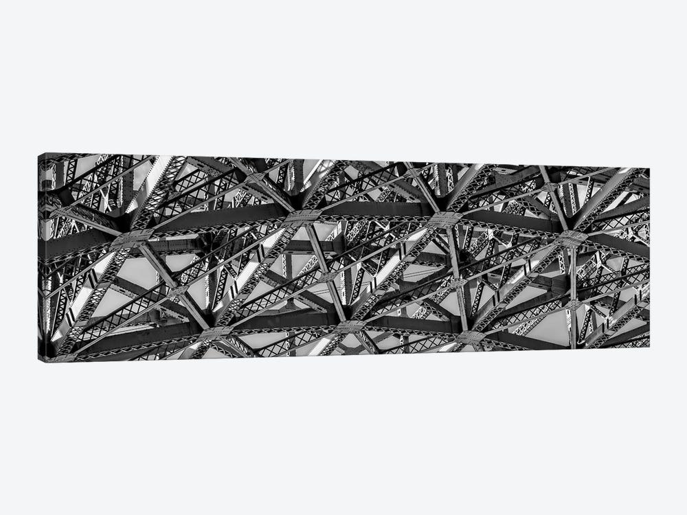 Low-Angle View Of Detail Of Structure Of Golden Gate Bridge, San Francisco Bay, San Francisco, California, USA by Panoramic Images 1-piece Canvas Wall Art