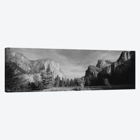 Low-Angle View Of Mountains In A National Park, Yosemite National Park, California, USA Canvas Print #PIM15183} by Panoramic Images Canvas Print