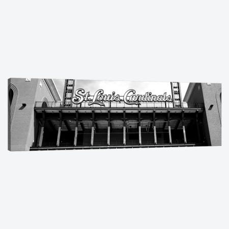 Low-Angle View Of The Busch Stadium In St. Louis, Missouri, USA Canvas Print #PIM15185} by Panoramic Images Canvas Artwork