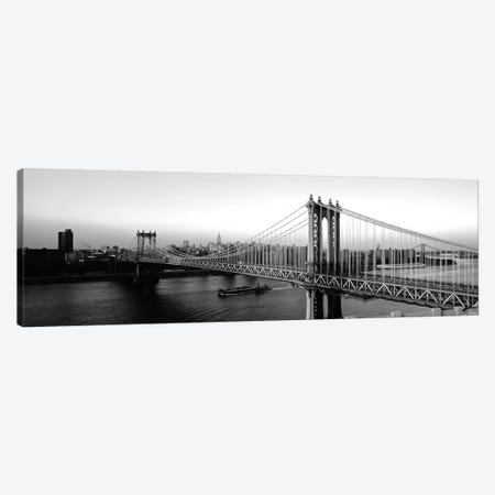 Manhattan Bridge, NYc, New York City, New York State, USA Canvas Print #PIM15188} by Panoramic Images Canvas Print
