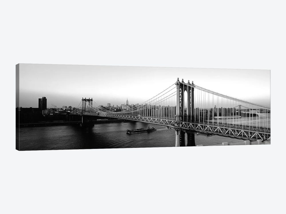 Manhattan Bridge, NYc, New York City, New York State, USA by Panoramic Images 1-piece Art Print