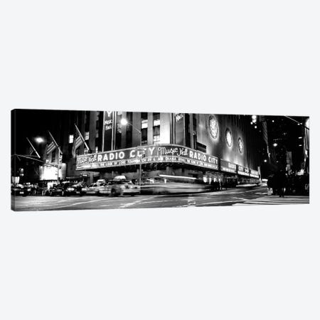 Manhattan, Radio City Music Hall, NYc, New York City, New York State, USA Canvas Print #PIM15189} by Panoramic Images Canvas Print