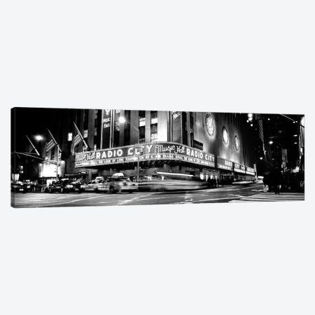 Manhattan, Radio City Music Hall, NYc, New York City, New York State, USA Canvas Print #PIM15189} by Panoramic Images Canvas Print