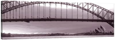 Harbor Bridge, Pacific Ocean, Sydney, Australia Canvas Art Print