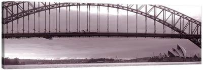 Harbor Bridge, Pacific Ocean, Sydney, Australia Canvas Print #PIM1518
