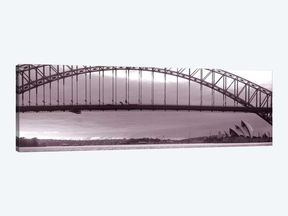 Harbor Bridge, Pacific Ocean, Sydney, Australia by Panoramic Images 1-piece Canvas Art Print