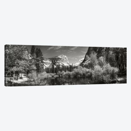 Mirror Lake In Yosemite National Park, Mariposa County, California, USA Canvas Print #PIM15192} by Panoramic Images Canvas Wall Art
