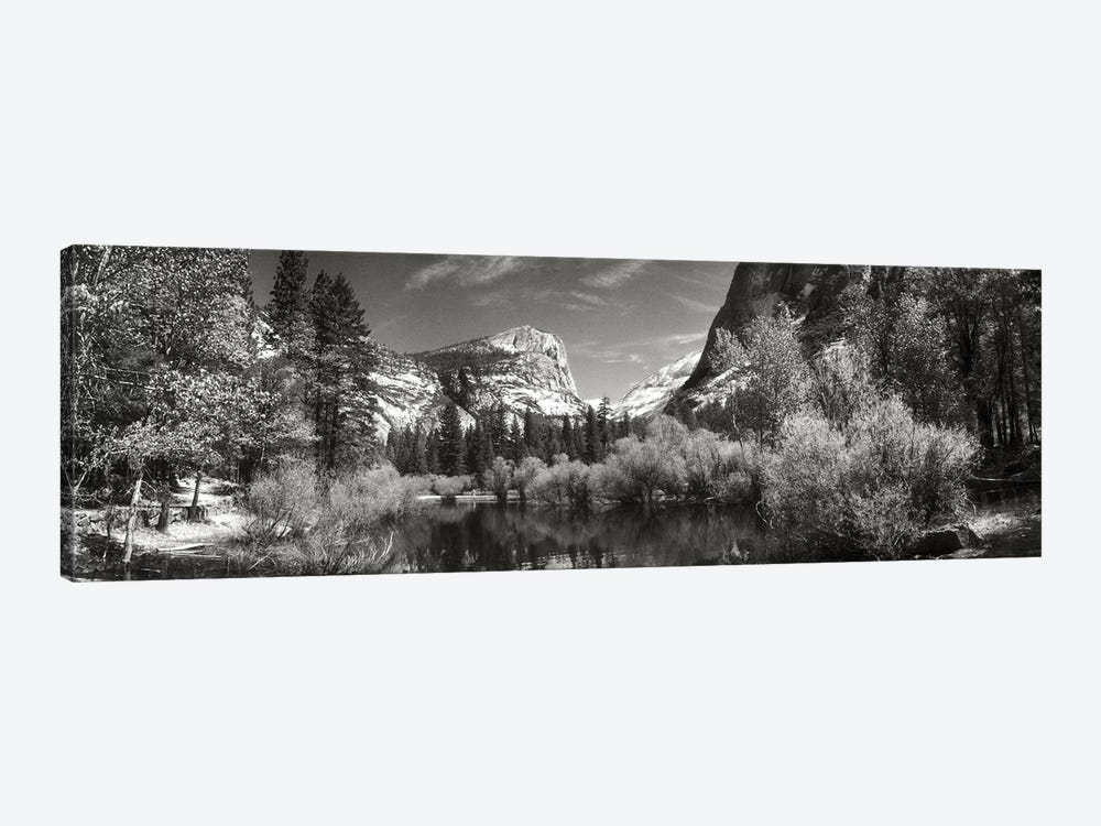 Mirror Lake In Yosemite National Park, Mariposa County, California, USA by Panoramic Images 1-piece Canvas Art