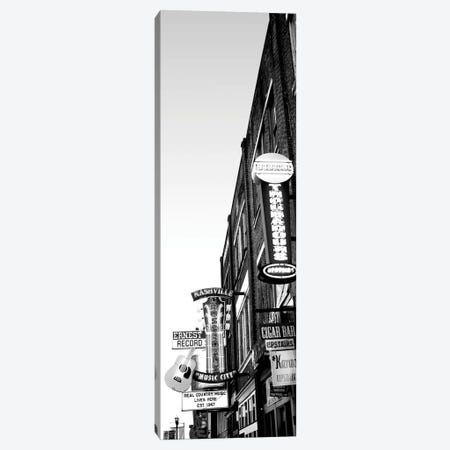 Neon Signs At Dusk, Nashville, Tennessee, USA Canvas Print #PIM15194} by Panoramic Images Canvas Art Print