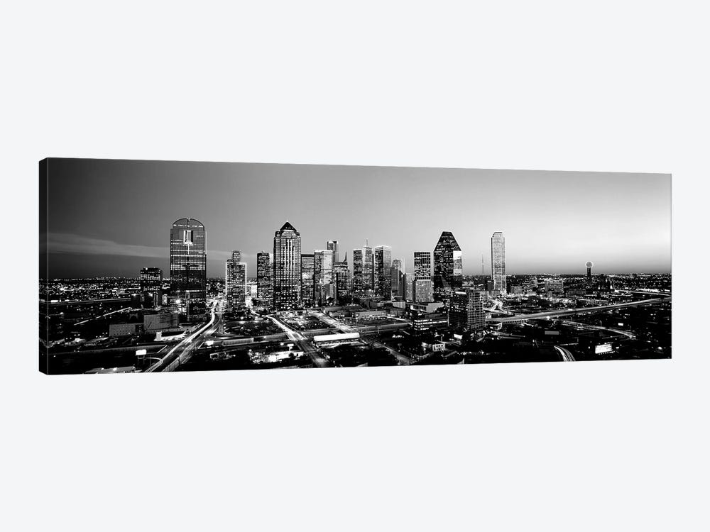 Night, Dallas, Texas, USA by Panoramic Images 1-piece Canvas Art Print