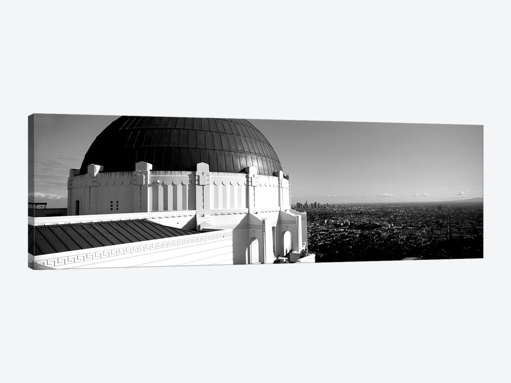 Observatory With Cityscape In The Background, Griffith Park Observatory, Los Angeles, California, USA by Panoramic Images 1-piece Canvas Art