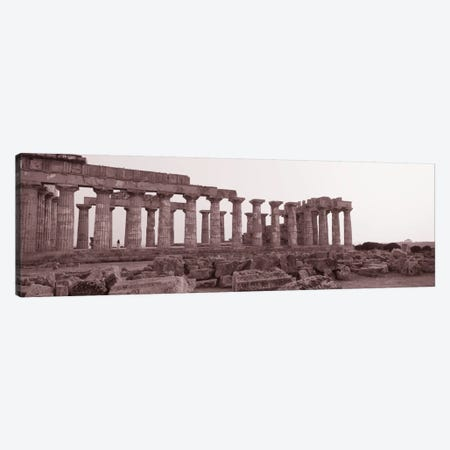 Acropolis Selinunte Archeological Park Italy Canvas Print #PIM1519} by Panoramic Images Canvas Print