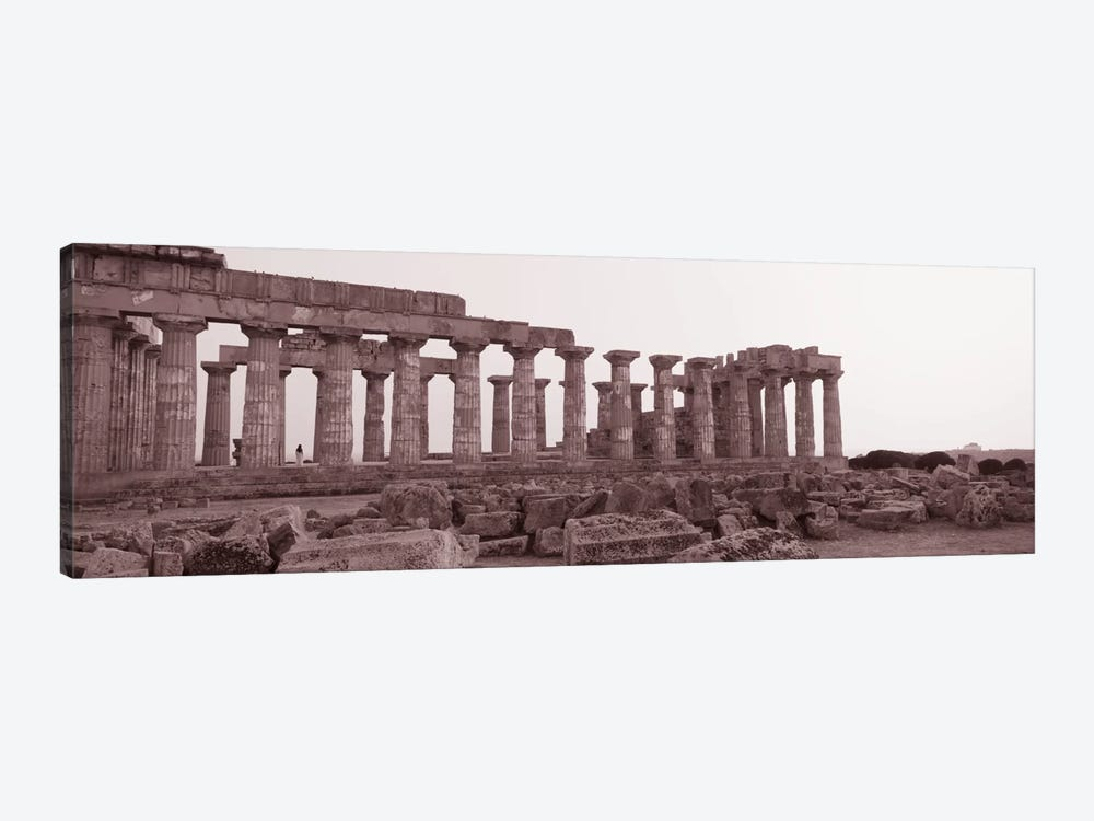 Acropolis Selinunte Archeological Park Italy by Panoramic Images 1-piece Canvas Wall Art