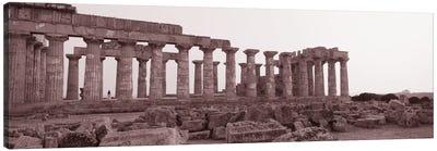 Acropolis Selinunte Archeological Park Italy Canvas Art Print