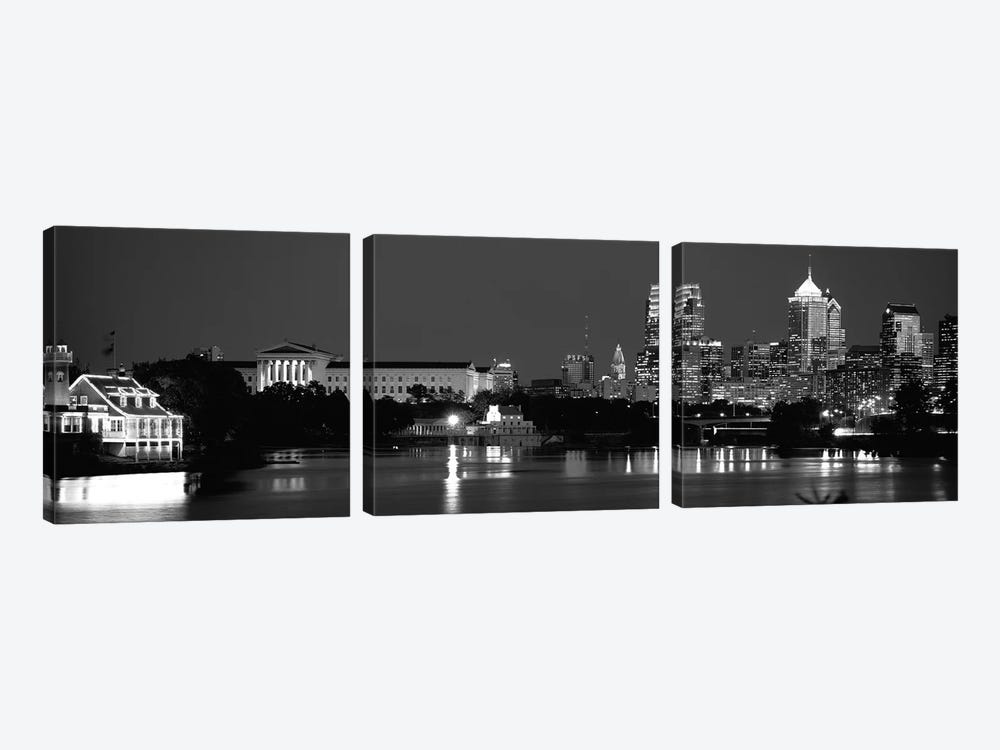 Philadelphia, Pennsylvania, USA 3-piece Canvas Artwork